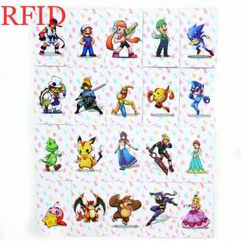 Juego completo de tarjetas de Super Smash Bros NFC, colección de datos, juego de etiquetas para NS Switch WiiU 3DS/3DS XL