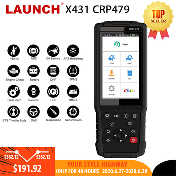 LAUNCH X431 CRP479 OBD2 Scanner JOBD Auto Scanner ABS TPMS DPF IMMO Key EPB Oil Reset Car diagnostic Tool OBD2 LAUNCH X431 WIFI