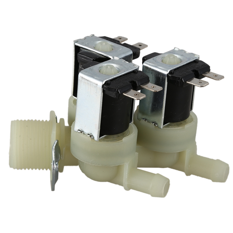 1 To 3 Electric Solenoid Valve Water Inlet N/C Normal Electric Solenoid Valve AC 220V G3/4 Solenoid Valve