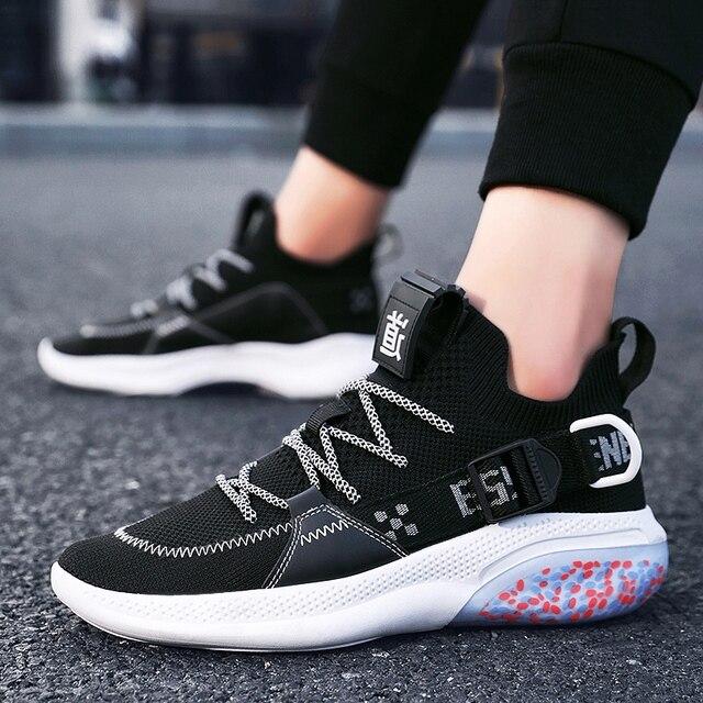 NOVEDAD DE VERANO transpirable hombres corriendo zapatos cómodos zapatos al aire libre antideslizante zapatos deportivos para trote zapatillas de deporte de los hombres originales de los zapatos de los hombres 3