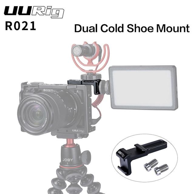 UURig R021 Universa กล้อง RIG คู่รองเท้าร้อน EXTENSION ไมโครโฟนสำหรับ Sony Nikon Canon กล้อง DSLR