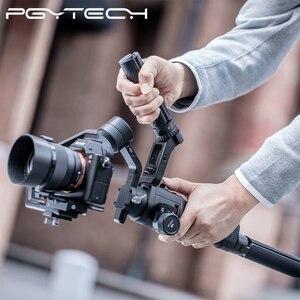 Image 4 - PGYTECH T2 esnek Tripod spor eylem kamera için Osmo cep GoPro Insta360 açılı ayarlanabilir tutucu tripod standı