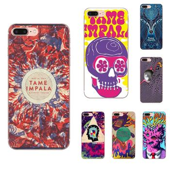 Fashion Tame Impala Skull For Xiaomi Redmi Note 2 3 3S 4 4A 4X 5 5A 6 6A Pro Plus Soft Silicone TPU Transparent Phone Case image