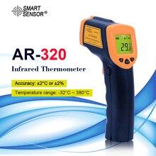 Цифровой инфракрасный термометр LDC AR320  32 ~ 380C( 26 ~ 716F), Бесконтактный ИК лазерный точечный пистолет, пирометр