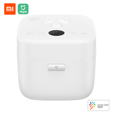 Xiaomi Mijia חשמלי אורז סיר 5L חכם בית סגסוגת יצוק ברזל חימום סיר לחץ Multicooker App בקרת בית 220V 1100W