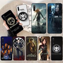 PENGHUWAN Agents of SHIELD Phone Case Cover for Xiaomi Mi9 9