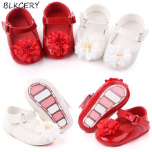 Shoes Toddler Newborn Baby-Girl Infant Soft Rubber Flower for 1-Year-Trainers Doll Gift