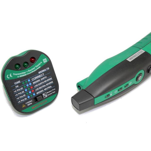 MASTECH MS5902 Automatic Circuit Breaker Finder Fuse Socket Tester