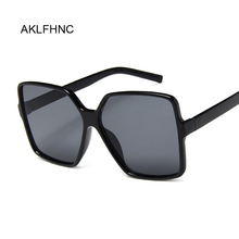 2020 Oversized Square Sunglasses Women Luxury Brand Fashion