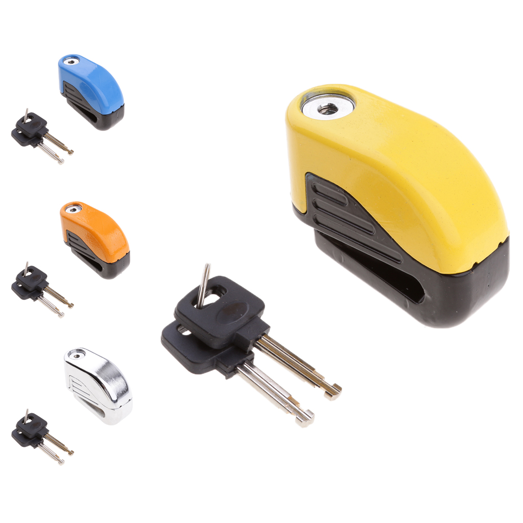 Motorcycle Alarm Disc Lock Brake Security Electronic Rotor Lock