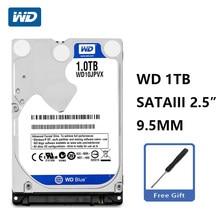 WD Blue – disque dur interne SATA III de 2.5 pouces, 1 to, 1000 go, 6 Gb/s, 8M, 9.5mm, 5400 RPM, pour ordinateur portable