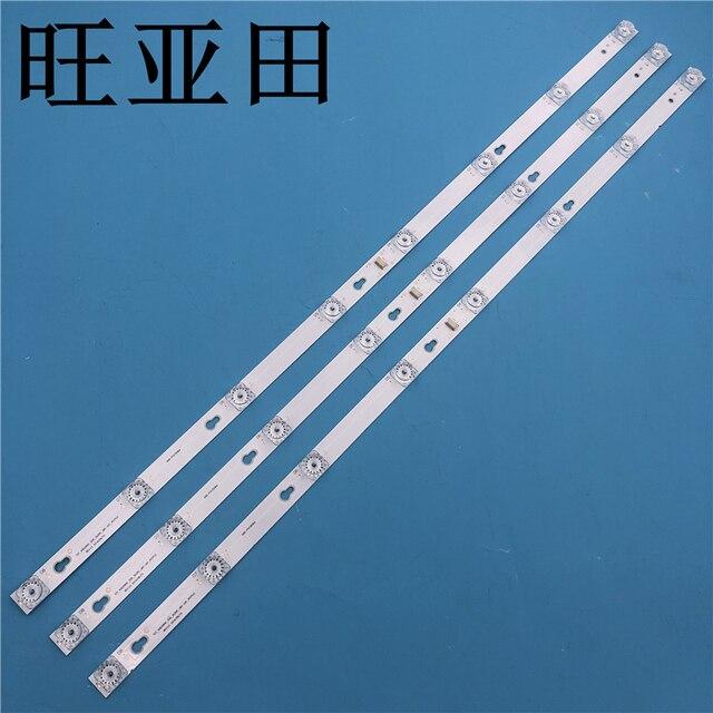ชุดใหม่ 3 PCS 8LED 69 ซม.LED BacklightสำหรับL40F3301B L40P F 4C LB4008 HR01J 40D2900 40HR330M08A6 V8 L40E5800A L40F3301B