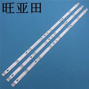 Image 1 - New Kit 3 PCS 8LED 69cm LED backlight strip for L40F3301B L40P F 4C LB4008 HR01J 40D2900 40HR330M08A6 V8 L40E5800A L40F3301B
