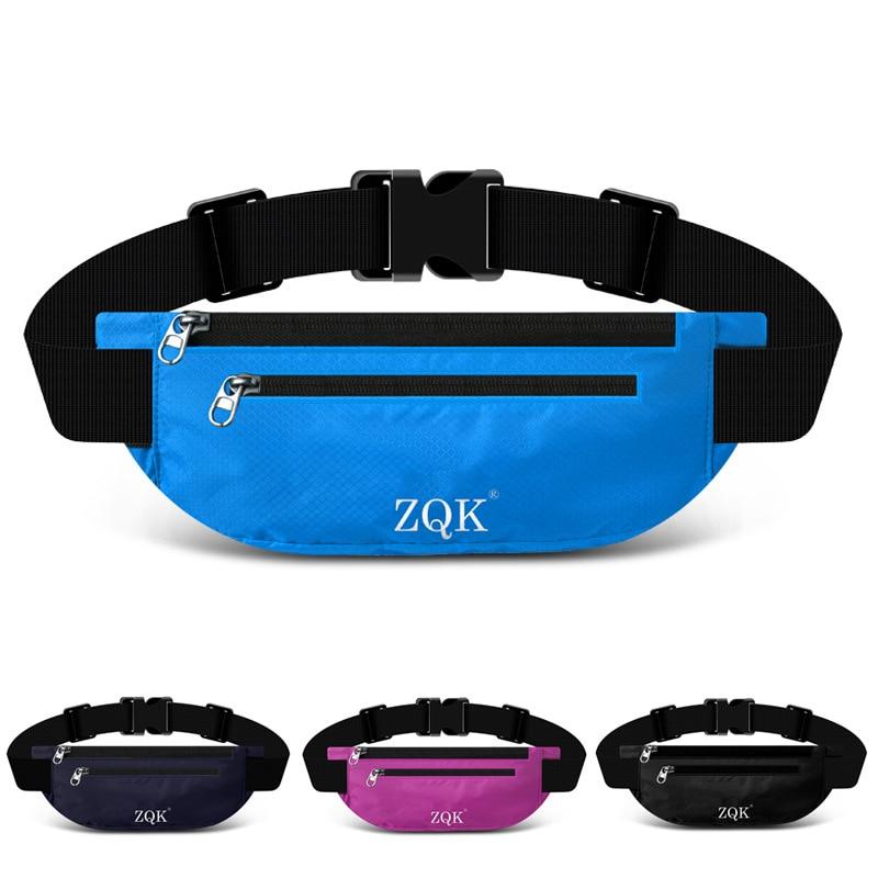 Sports Waist Pack Multi-functional Running Men And Women Mobile Phone Belt Ultra-Thin Travel Hidden Outdoor Kits Waterproof Fash