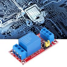 цена на 4pcs 1-Channel Relay Module 12V High/Low Level Trigger with Optocoupler Isolation for Arduino