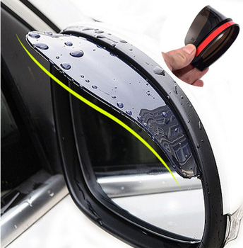 Car Accessories Rearview Mirror Rain eyebrow Rain Cover for BMW 330e M235i Compact 520d 518d 428i 530d 130i image