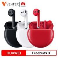 Stock Huawei FreeBuds 3 Bluetooth Earphone TWS Wireless Earphone Kirin A1 Chip Tap Control 20 Hours Battery Life ANC Function