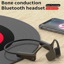 PGDM V11 orijinal kemik iletimli kulaklık Bluetooth kablosuz spor kulaklık ile eller serbest koşu için mikrofon kulaklık