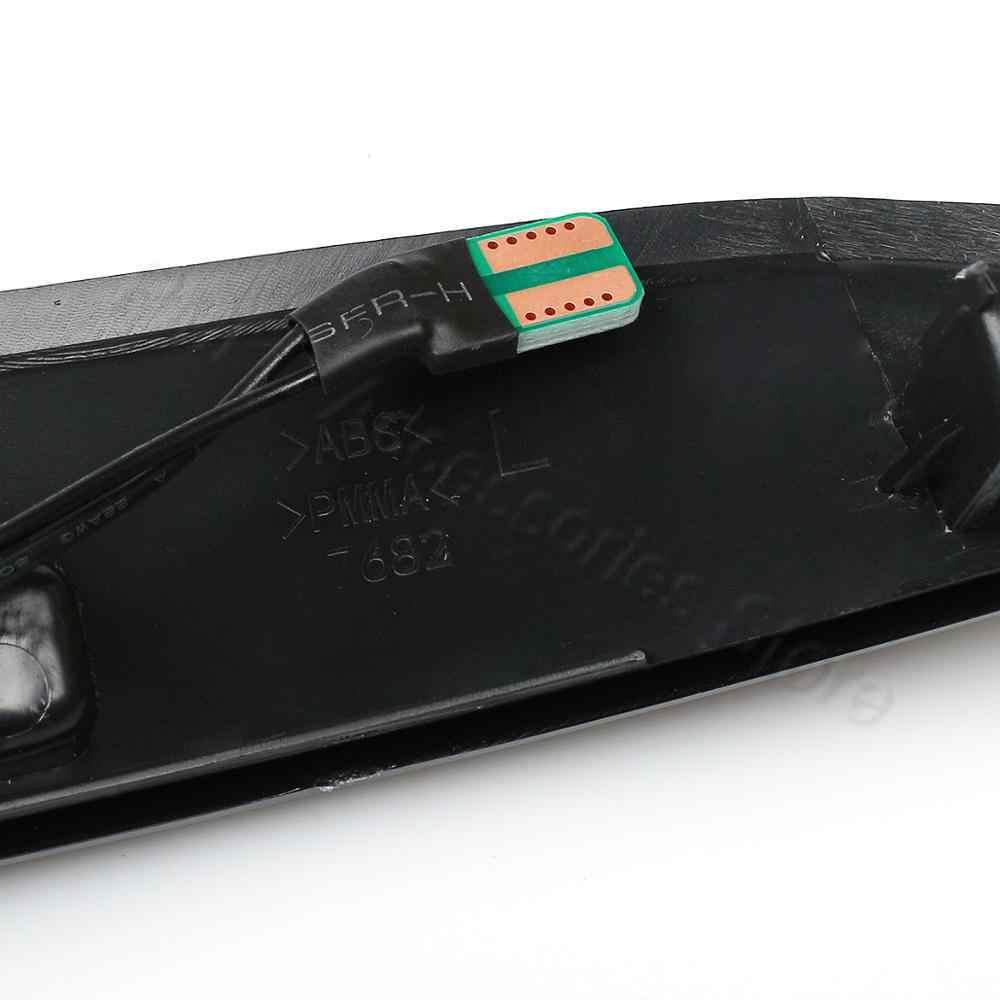 PMFC LED ala lateral espejo retrovisor indicador dinámico Luz de repetición 2 uds Luz de señal de giro fluida para Ford para Fiesta