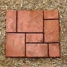 DIY 10 сетки сад прогулки производитель тротуарной формы бетонные плиты путь Brick-40x40cm