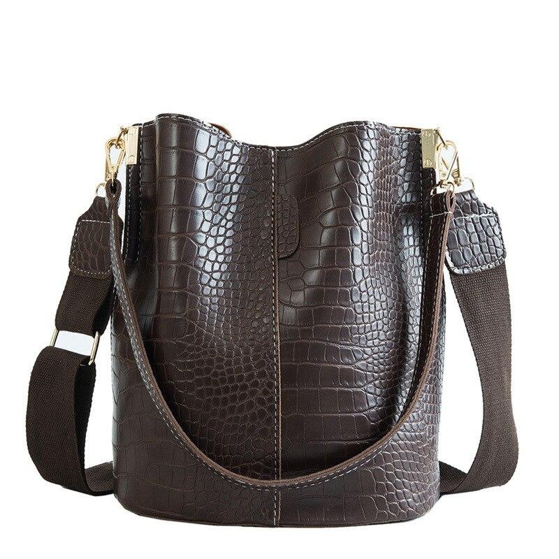 2020 новая крокодиловая сумка через плечо для женщин сумка через плечо брендовая дизайнерская женская сумка роскошная сумка из искусственной кожи Сумка ведро|Сумки с ручками|   | АлиЭкспресс
