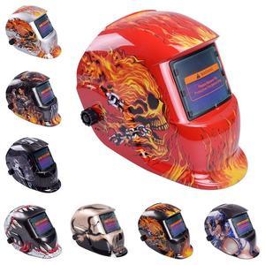 Image 5 - 8 Styles Welding Helmet Auto Darkening Darkening Welding Multifunction Protective Welding Mask UV Protection Lens Tig Helmets