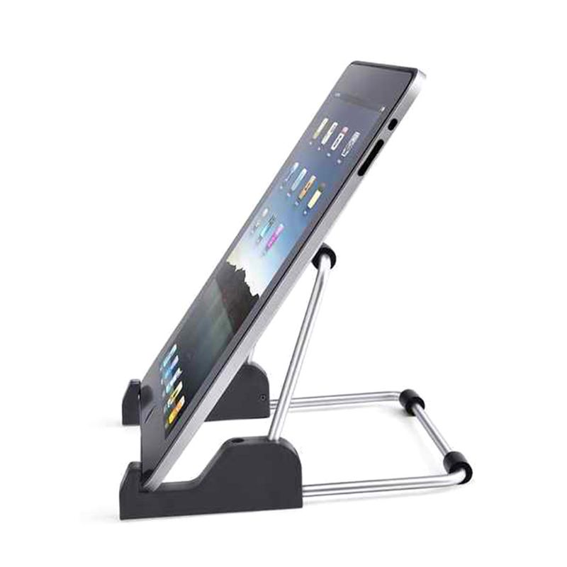 Foldable Aluminum Alloy Tablet Stand Adjustable Portable Metal Holder Cradle for 7-11 Inch Laptops PC Computer Tablet Accessory