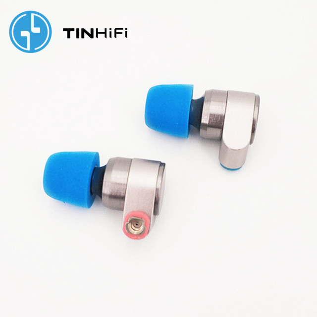 TINHIFI T2 2DD Double Dynamic Drive in Ear Earphone HiFi Bass DJ Metal headsets 3.5mm MMCX Cable Tin T1 T2 PRO T3 P1 24h ship 2