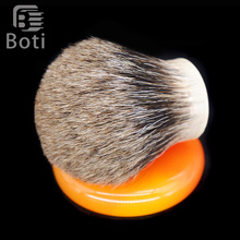 Boti Brush-SHD Giant Pure Mix Badger Hair Knot Gel Tip Bulb Type Exclusive Beard Care Tool Beard Shaping Kits