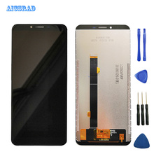 AICSRAD orginal Well For Cubot X18 Plus LCD Display + Touch Screen Panel Digitizer Replacement x 18 x18plus screen with frame