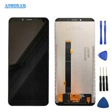 Aicsrad元祖よくcubot X18 プラスlcdディスプレイ + タッチスクリーンパネルデジタイザ交換 × 18 x18plus画面フレーム