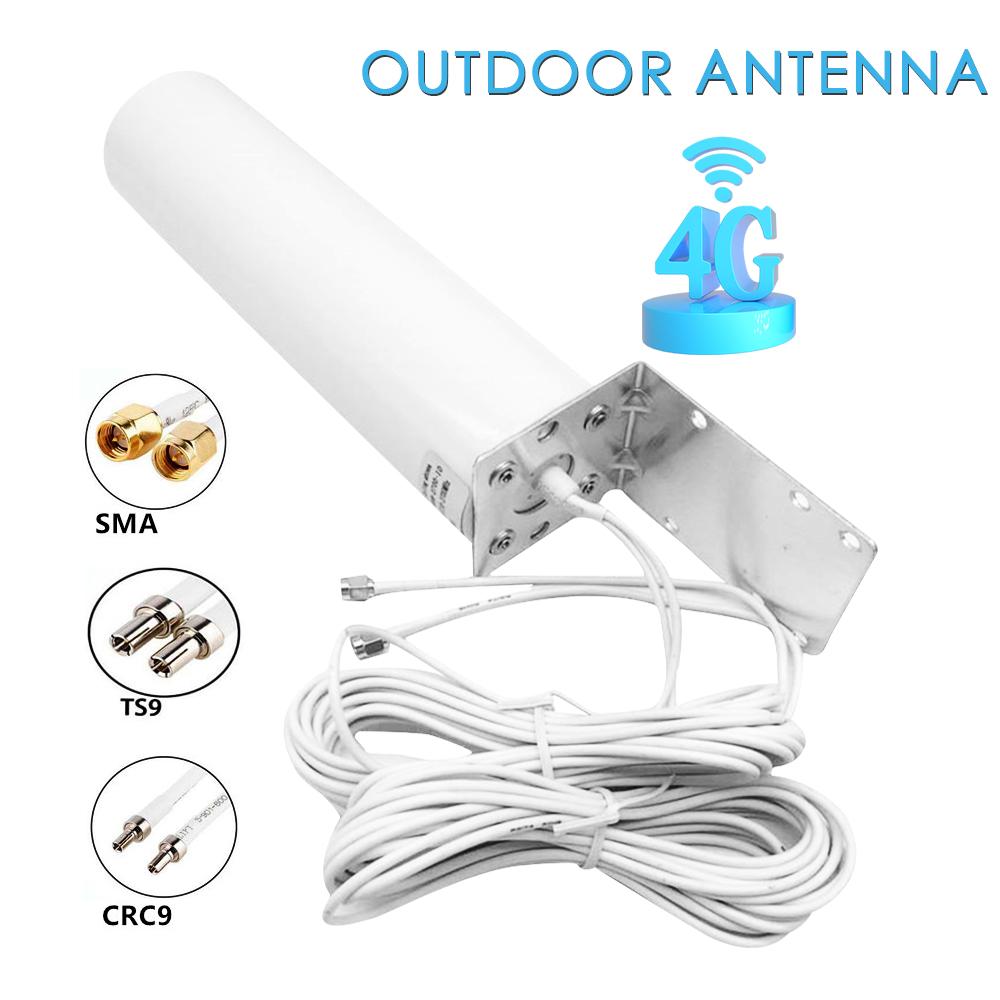 4g lte Антенна 3g внешняя антенна с 5 м двойной слайдер crc9/ts9/sma
