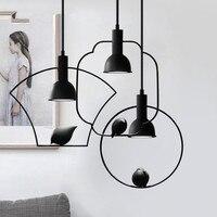 Nordic Style Creative Bird Design Pendant Light Restaurant Led Spotlight Lights New Chinese Lighting Bedroom Light Fixtures