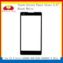 10Pcs/lot Touch Screen For LG X Style K200DS K6B K200 K200DSF Skin Panel Front Outer LCD Glass Lens