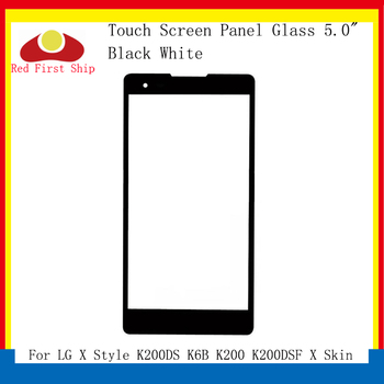 10Pcs/lot Touch Screen For LG X Style K200DS K6B K200 K200DSF X Skin Touch Panel Front Outer X Style LCD Glass Lens x style