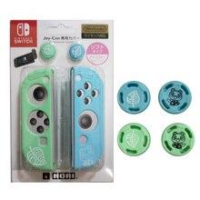 Feuille dours pouce bâton poignée capuchon Animal croisement Joystick couverture peau pour Nintendo Switch NS Lite Joycon contrôleur coque en Silicone
