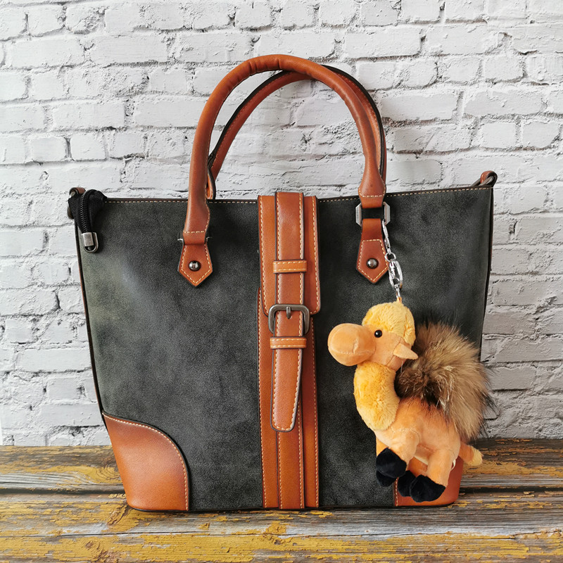 2019 New Leather Women's Bag Personality Fashion Hand Bill Of Lading Shoulder Bag Large Capacity Multi-functional Ladies Handbag