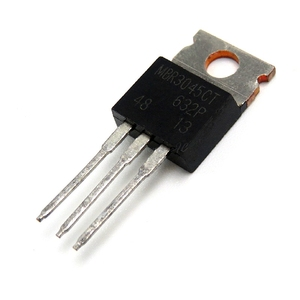 10pcs/lot MBR3045CT TO-220 MBR3045 TO220 MBR3045C 30A45V Schottky and fast recovery diode new original In Stock