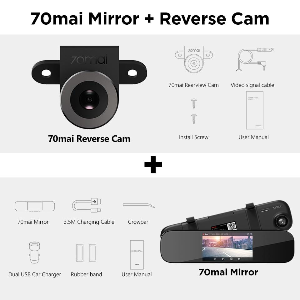 70mai Mirror + Reverse Cam-960