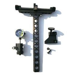 1 zestaw związek łuk wzroku łucznictwo 4X obiektyw z uchwyt szkolenie praktyka w Łuki i strzały od Sport i rozrywka na