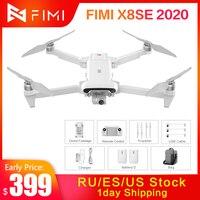 FIMI-Dron X8 SE 2020 RC X8SE, 35 minutos de vuelo, helicóptero 8KM FPV 3 ejes cardán 4K Cámara Full HD GPS RC Dron Quadcopter RTF