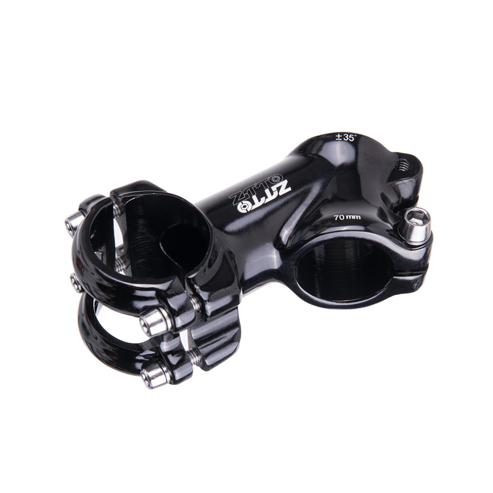 35 Degree High-Strength Lightweight 31.8mm Polished Stem for XC AM MTB Mountain Road Bike Bicycle Part Accessories