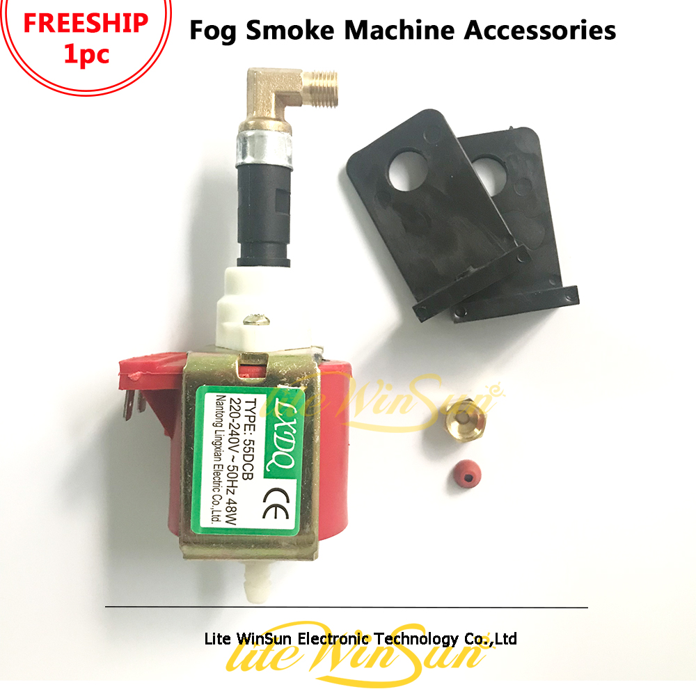 Freeship 1pc 55DCB 48W Oil Pump Power Pump 110V 220V For Snow Smoke Fog Machine
