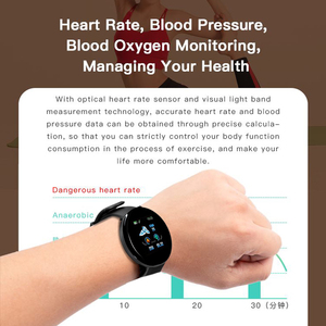 Image 3 - 2019 بلوتوث ساعة ذكية الرجال ضغط الدم جولة Smartwatch النساء ووتش D للماء جهاز تعقب للياقة البدنية ال WhatsApp لالروبوت iOS