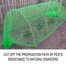 Szklarnia odporna na owady siatka netto ochrona roślin warzywnych osłona netto łatwe do przenoszenia narzędzia do ochrony środowiska ogrodowego tanie tanio Polyethylene Insect net Vegetable Plant Protection Net green