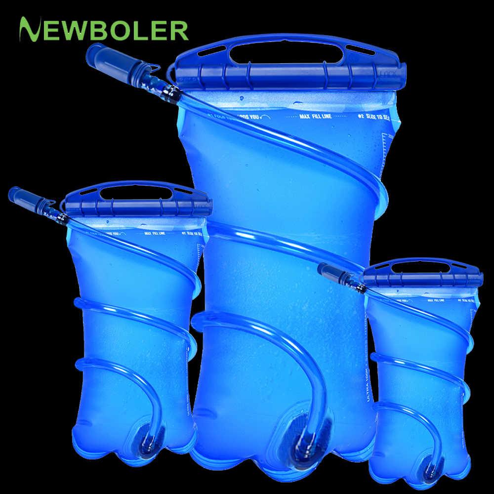 Bolsa de vejiga de agua Paquete de hidratación de depósito de agua 1L 1,5 l 2L 3L bolsa de almacenamiento BPA Chaleco de hidratación para correr gratis mochila