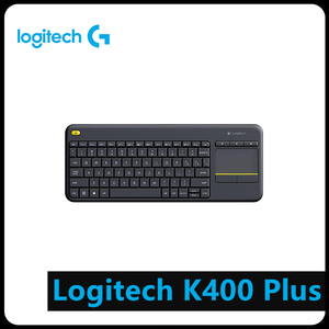 Image 1 - Logitech K400 PLUS Wireless TOUCH Keyboard W/ทัชแพดสำหรับ Android สมาร์ททีวีคอมพิวเตอร์อุปกรณ์ต่อพ่วง