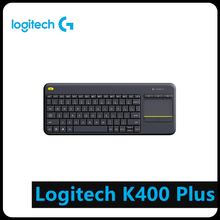 Logitech K400 Plus Wireless Touch Keyboard w/ Touchpad for Android Smart TV Computer Peripheral цена 2017