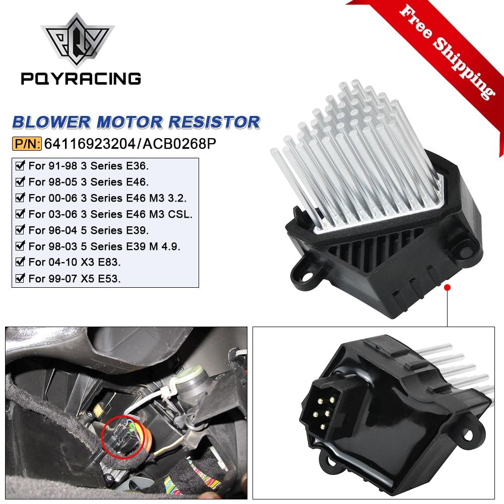 Heater Blower Fan Motor Résistance BMW 3 E36 E46 5 Série E39 X3 X5 Range Rover