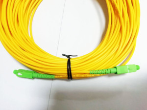 Image 3 - จัดส่งฟรีSM SX PVC 3มม.30เมตรSC APC Fiber Opticสายจัมเปอร์SC/APC SC/APCไฟเบอร์ออปติก